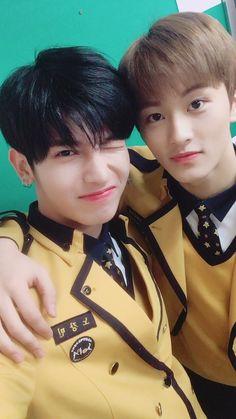 Mark (NCT) & Kangmin (Romeo)