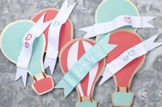 string together to decorate nursery walls