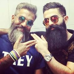 Beards look great, but many men don't know the health benefits of having a facial hair. #beards