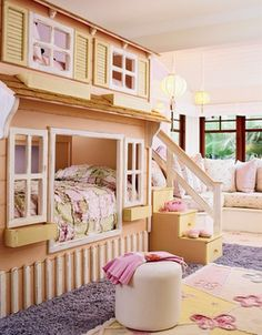 coolest kids bedrooms......... Just.... WOW!