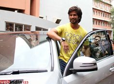 Bollywood actor Shahid Kapoor during Sophia college annual intercollegiate festival Kaleidoscope 2013 in Mumbai, India on September 8, 2013.  http://movie.webindia123.com/movie/asp/event_gallery.asp?cat_id=2&p_id=0&e_no=5907