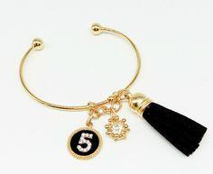 Charm Bracelets – Bracelet with Charms ,Leather Tassel, Outdoor – a unique…