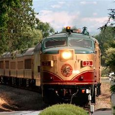 Napa Valley Wine Train - The best way to see and experience the vineyards in Napa-Sonoma, California.  ASPEN CREEK TRAVEL - karen@aspencreektravel.com