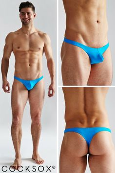 Strut right on down to the beach in the uber-sexy Cocksox swimwear thong