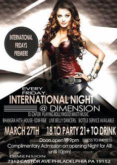 International Fridays DIMENSION