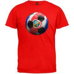 World Cup Costa Rica Soccer T-Shirt