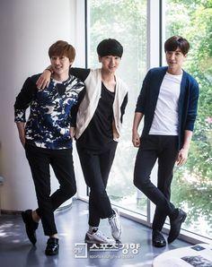 Eunhyuk, Yesung, Leeteuk