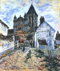 Vetheuil, The Church - Claude Monet