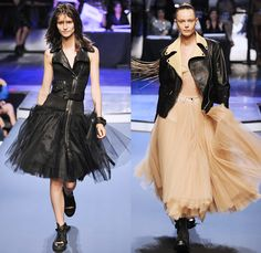 Jean Paul Gaultier 2014 Spring Summer Womens Runway Collection - Paris Fashion Week - Mode à Paris - Ballroom Dancers Fringes Flapper Patchw...