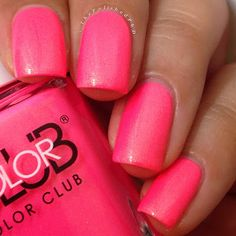 Color Club 2014 Neon Poptastic Collection Peace, Love and Polish