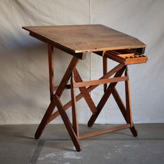 Keuffel Amp Esser Drafting Table Antique Vintage Factory