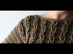 Crochet Cable Sweater by YarnHookNeedles | crochet cables | crochet sweater - YouTube