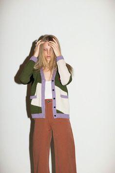 Dusen Dusen - Block Cardigan | BONA DRAG