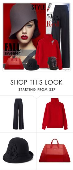 """Cozy Fall Sweaters"" by mcheffer ❤ liked on Polyvore featuring Martin Grant, Vanessa Bruno, deLux, Dsquared2 and fallsweaters"