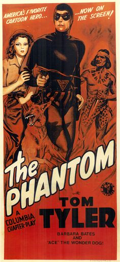 The Phantom posters for sale online. Buy The Phantom movie posters from Movie Poster Shop. We're your movie poster source for new releases and vintage movie posters. 1940s Movies, Old Movies, Vintage Movies, Great Movies, Vintage Posters, Retro Posters, Vintage Ads, Poster S, Movie Poster Art