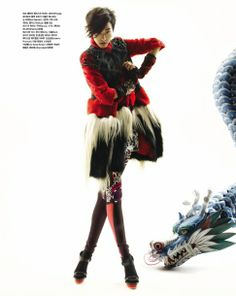 The Magic Dragon by Bo Lee for Vogue Korea