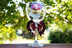 NFL San Francisco 49ers Sports Team College by frecklefoxboutique, $19.99
