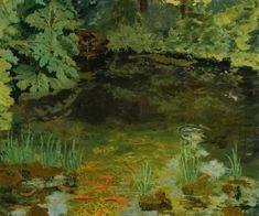 The Goldfish Pool at Chartwell - Winston Churchill