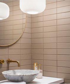 Modern Luxury Bathroom, Modern Bathroom Tile, Glass Bathroom, Bathroom Interior Design, Interior Ideas, Guest Bathrooms, Large Bathrooms, Reeded Glass, Small Toilet Room