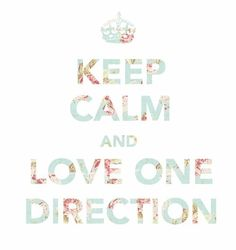 love love love one direction.... now im getting emotional haha jk...maybexD