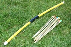 Craft, Interrupted: Fun Jar Friday #11: Kid Friendly PVC Bow and Arrow +4 more!