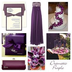 Purple Rustic Wedding Ideas - Rustic Wedding Chic