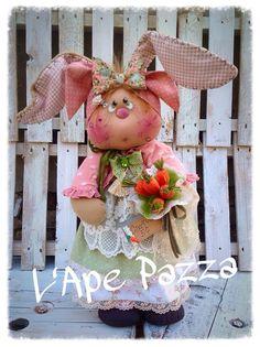 """Cartamodelli primavera 2015 : Cartamodello coniglia """"Priscilla"""""""