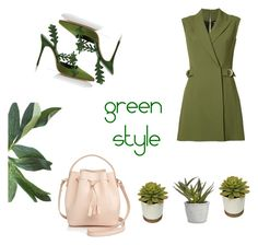 Designer Clothes, Shoes & Bags for Women Balmain, Green Fashion, Polyvore Fashion, Shoe Bag, Stuff To Buy, Shopping, Accessories, Design, Women