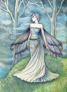 """*+*Mystickal Faerie Folke*+*...""""Eternity""""... By Artist Molly Harrison..."""