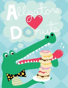 It's true.      ***monkeypowered: alligators love donuts