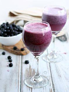 Blueberry Cream Wine Slush