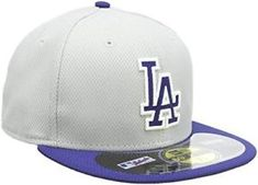New Era MLB Road Diamond Era Fitted Cap: Get This Official New Era On Field Cap That Will Be Worn for the 2013 Batting Practice! Hat World, Softball Equipment, Mlb Players, Louisville Slugger, New Era 59fifty, Spring Training, Hats For Sale, Fitted Caps, Los Angeles Dodgers