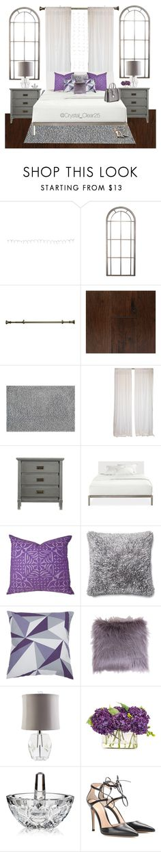 """""""Loft Life"""" by crystal-castleberry ❤ liked on Polyvore featuring interior, interiors, interior design, home, home decor, interior decorating, Buy Seasons, Achim, Somette and Stanley Furniture"""