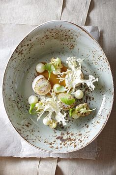 Scallops with cauliflower - Unilever Food Solutions