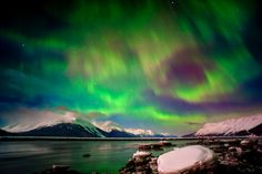 Northern Lights from Alaska - would love to go here over Xmas sometime. I truly think it would be the most magical way to spend xmas, surrounded by snow and a beautiful natural phenomen. Would also be fun to try my hand at husky sledding whilst I'm here! #HipmunkBL