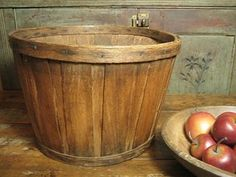 Fabulous Early Old Antique Shaker Basket ~ Patina!