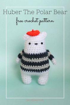 Free Crochet Pattern – Huber the Polar Bear