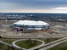 Texas Stadium - Irving, Texas. No longer standing.