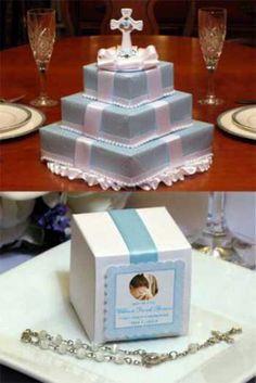 Favor box Cake