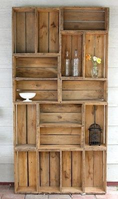 Les casiers et caisses en bois ont la côte !