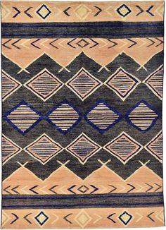Gray 5' 8 x 7' 8 Abstract Modern Ziegler Rug | Oriental Rugs | eSaleRugs