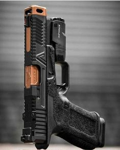 Airsoft Guns, Weapons Guns, Guns And Ammo, Custom Glock, Custom Guns, Armas Airsoft, Revolver, Ar Pistol, 45 Caliber Pistol