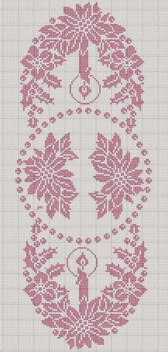 Victoria - Handmade Creations: Draft lace doilies for Christmas table