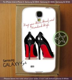 Marilyn Monroe Heels Quote iPhone 4/4S/5, Samsung S4/S3/S2 cover cases | sedoyoseneng - Accessories on ArtFire