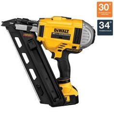 DEWALT, 20-Volt Max XR Lithium-Ion Cordless Brushless 2 Speed Framing Nailer, DCN692M1 at The Home Depot - Mobile