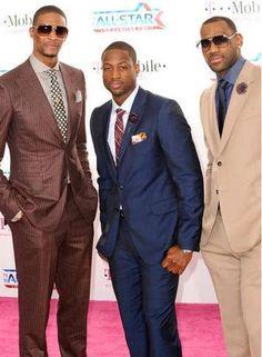 Chris Bosh, Dwayne Wade, Lebron James