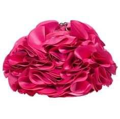 The perfect party purse for any occasion, our Everything's Coming Up Roses Clutch colors. Available in pink, champagne, navy and black.    100% polyester evening bag with coin purse closure and optional shoulder...