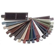 Mid-America SKVINYLSHUTTERALL Vinyl Shutter Sample Colors Samples57854 - ArchitecturalDepot.com