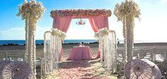 Very pretty in pink: Hotel Del Coronado beach wedding | San Diego Wedding