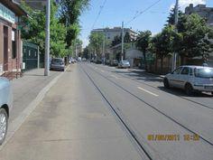 Strada Tunari, zona Stefan cel Mare, dupa finalizarea lucrarilor de reabilitare